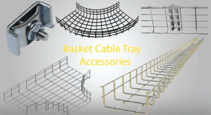 Accessories in Basket Cable Tray